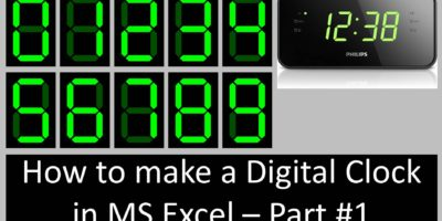 Digital Clock Tutorial - part #1