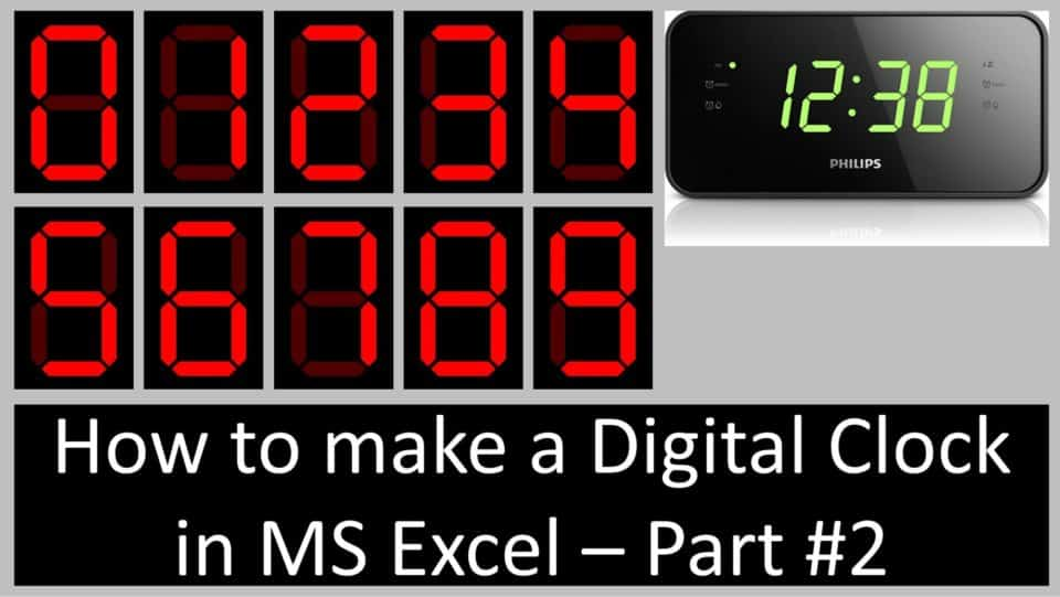 Digital Clock Tutorial - Part #2